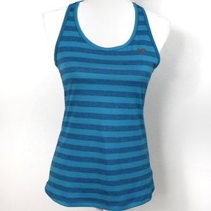 T572 New Balance Teal Navy Workout Tank Small